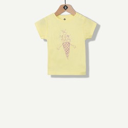 T-shirt fille photosensible glace