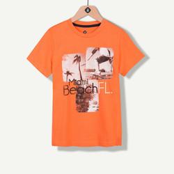 T-shirt orange photoprint