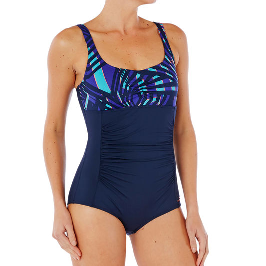 06a521120a9a ... Mary Shortcut Women s One-Piece Body-Sculpting Aquafitness Swimsuit