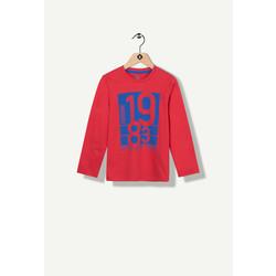 T-shirt manches longues rouge