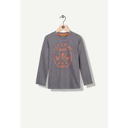 T-shirt manches longues gris Let
